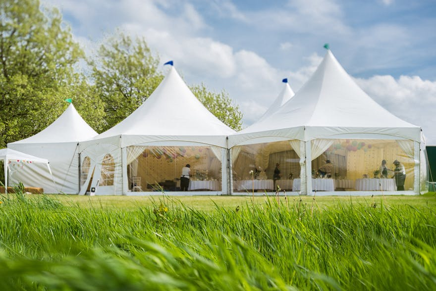 Spring and Summer Wedding Marquees | Confetti.co.uk