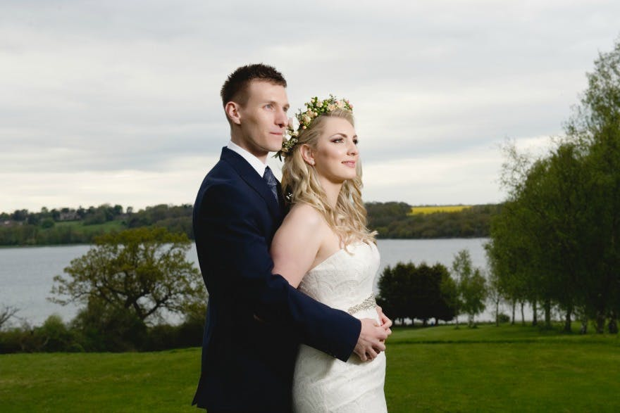Bride and groom by Amanda Foreman Photography | Confetti.co.uk