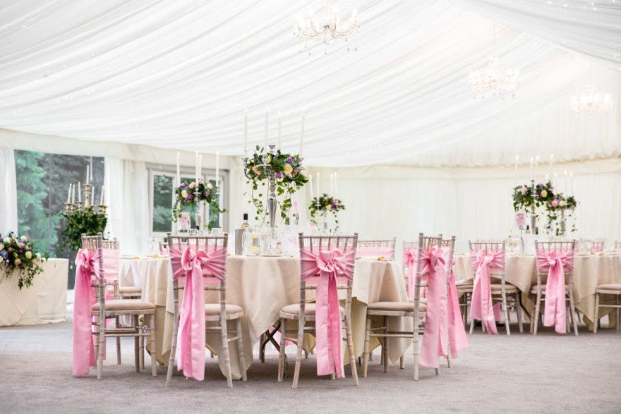 Soughton Hall Wedding Tables | Confetti.co.uk