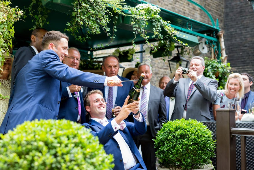 The Montague on the Gardens Groomsmen | Confetti.co.uk