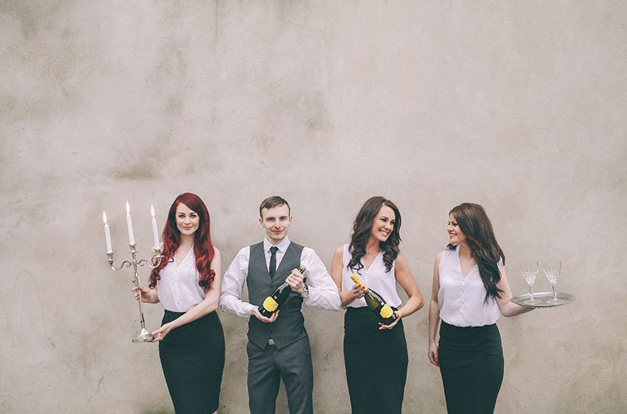 Singing Waiters with Bands For Hire | Confetti.co.uk