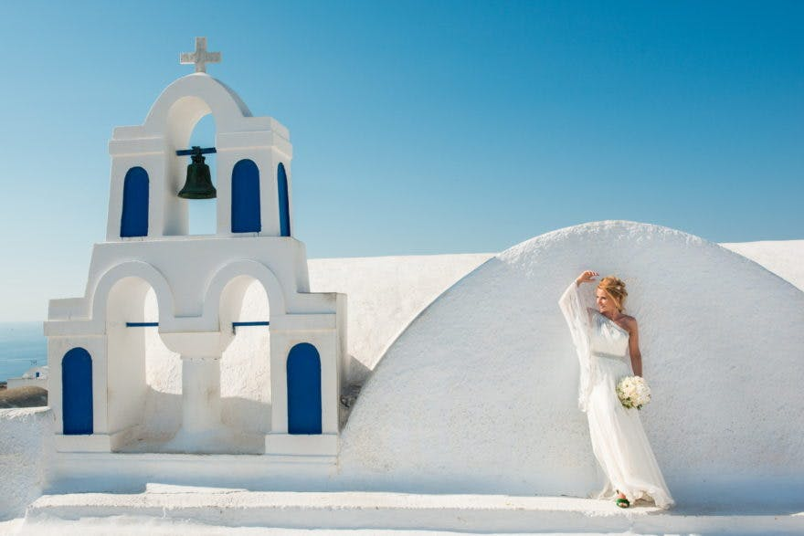 Rooftop wedding with Greek Dream Planners | Confetti.co.uk