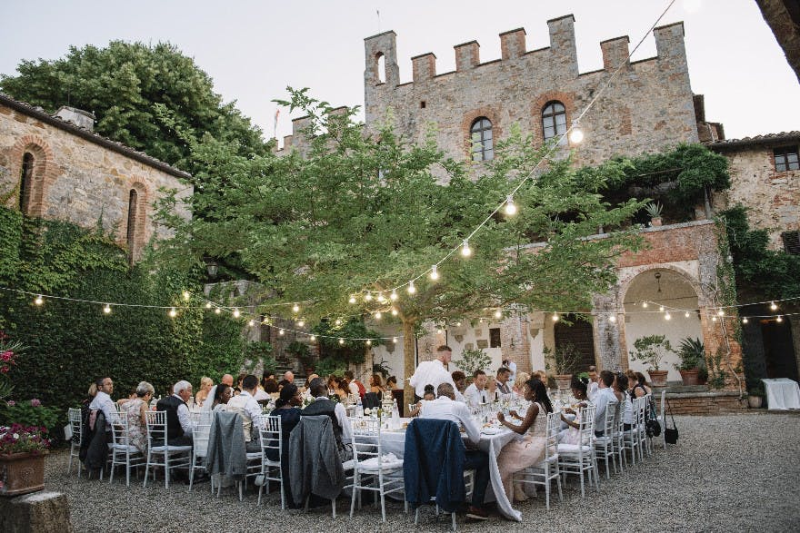 Elegant Italian Wedding in Tuscany | Confetti.co.uk