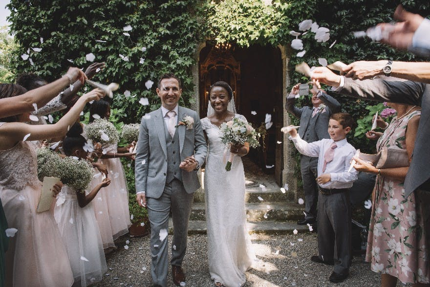 Italian castle wedding in Tuscany | Confetti.co.uk