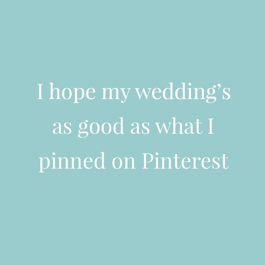 15 Funny Wedding Planning Quotes For The Stressed Out Bride