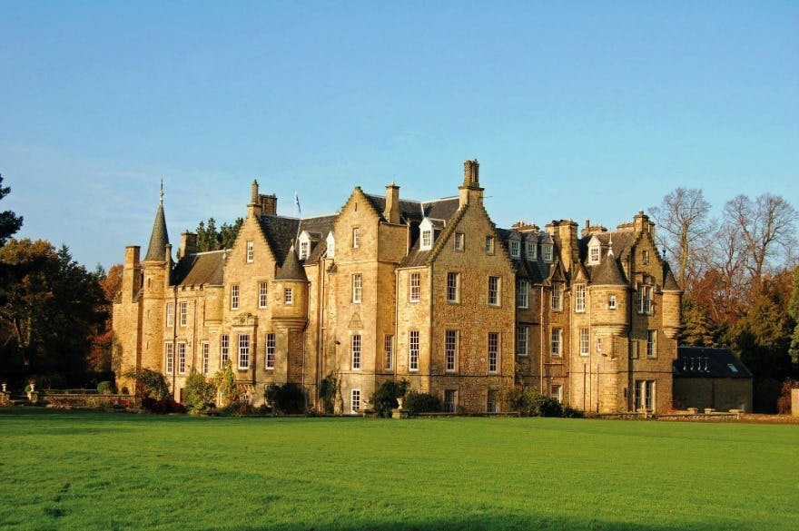 Luxury weddings at Carberry Tower in Scotland | Confetti.co.uk