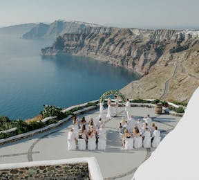 MarryMe in Greece Santorini wedding | Confetti.co.uk