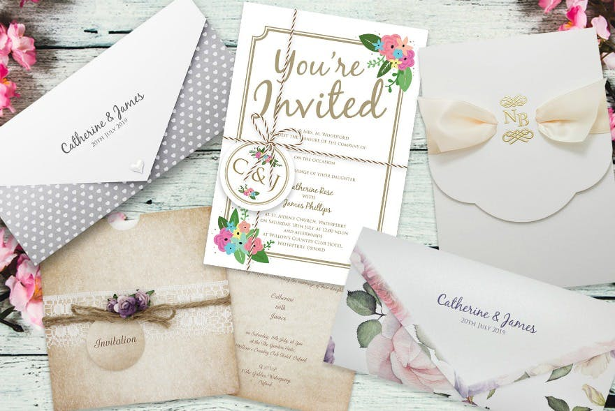Wedding stationery offer by Paper Themes   Confetti.co.uk
