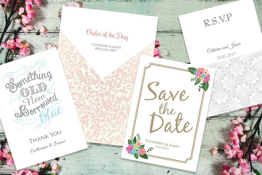 Wedding stationery by Paper Themes   Confetti.co.uk