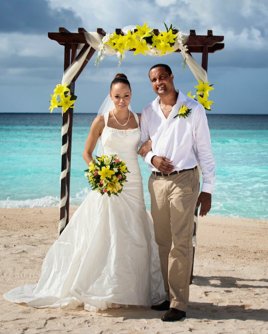 Tropical Sky beach wedding and honeymoon offers | Confetti.co.uk