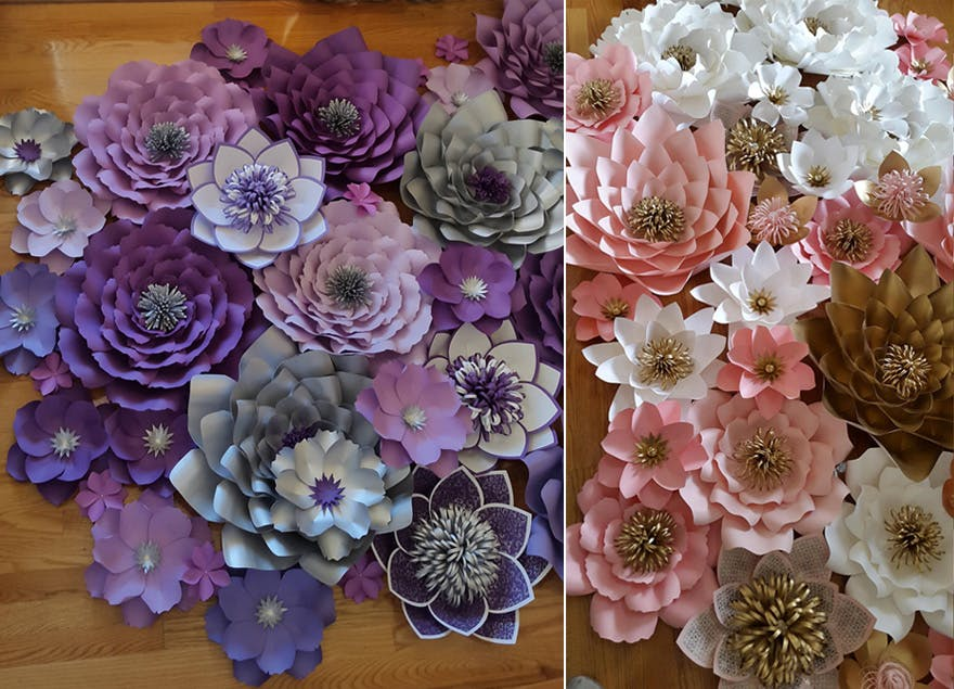 Pleasing How To Make Paper Flowers Diy Paper Flowers Confetti Co Uk Download Free Architecture Designs Sospemadebymaigaardcom