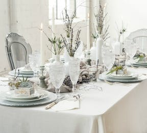 Winter wedding table | Confetti.co.uk