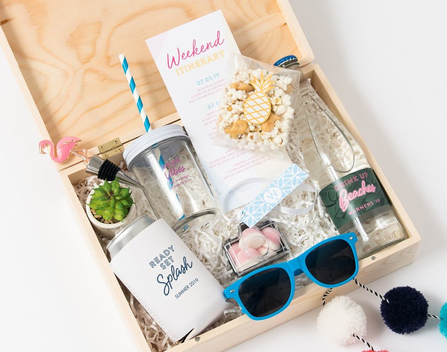 Drinks and Snacks Summer Gift Box | Confetti.co.uk