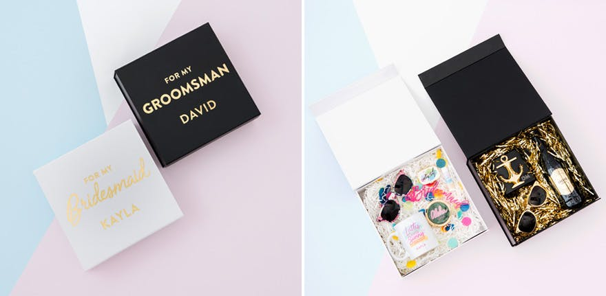 For My Bridesmaid and For My Groomsman Gift Ideas | Confetti.co.uk
