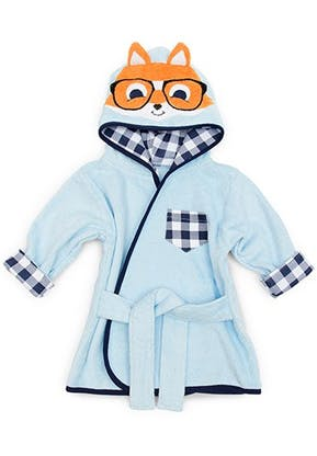 Hipster Fox Hooded Bathrobe and Dressing Gown | Confetti.co.uk