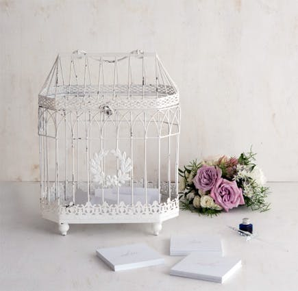 Metal Bird Cage - Conservatory Style | Confetti.co.uk