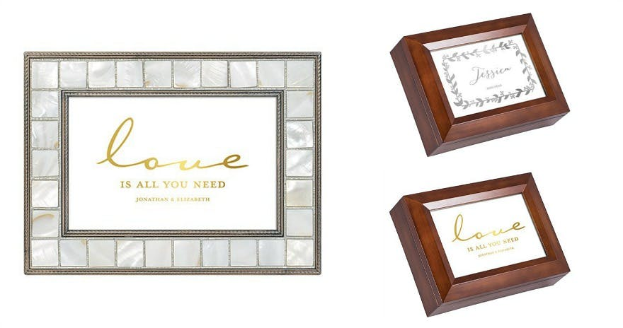 Personalised music box | Confetti.co.uk