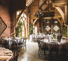 Shustoke Stunning Rural Barn Vintage Wedding Reception from by GARAZI