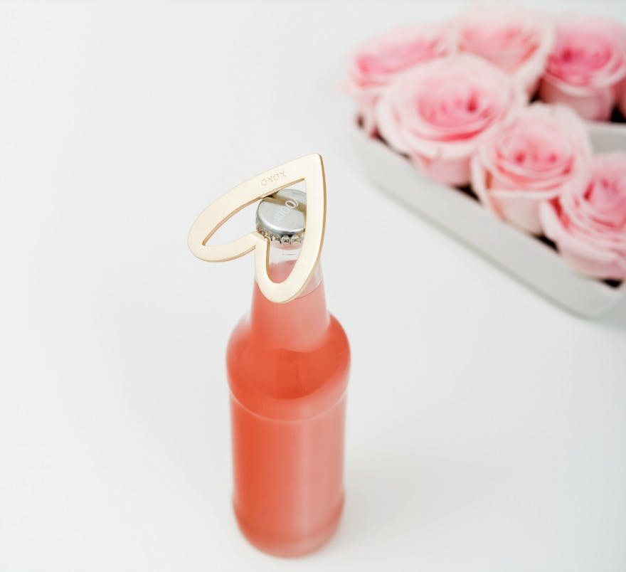 Love heart bottle opener | Confetti.co.uk