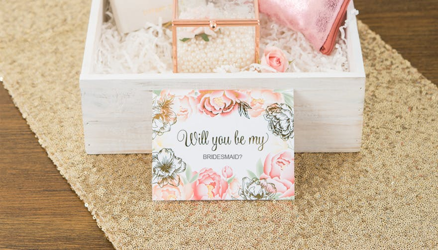 Will You Be My Bridesmaid Best Bridesmaid Proposal Ideas