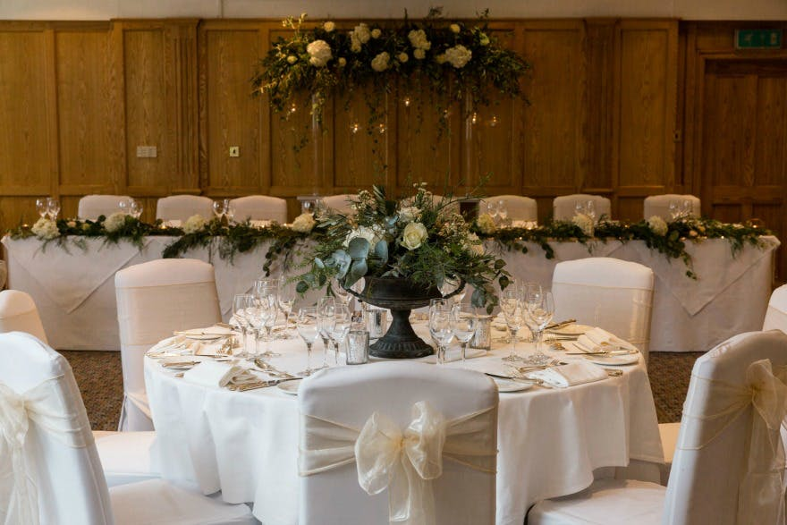 Cavendish Suite at the Devonshire Arms Hotel by Suzy Mitchell | Confetti.co.uk