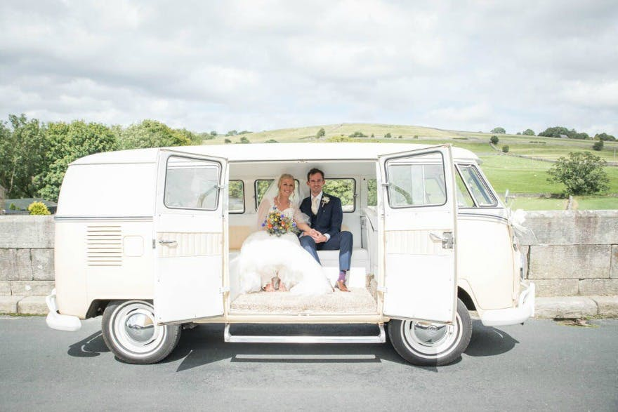 Helen and Jamie's wedding at Devonshire Fell | Confetti.co.uk