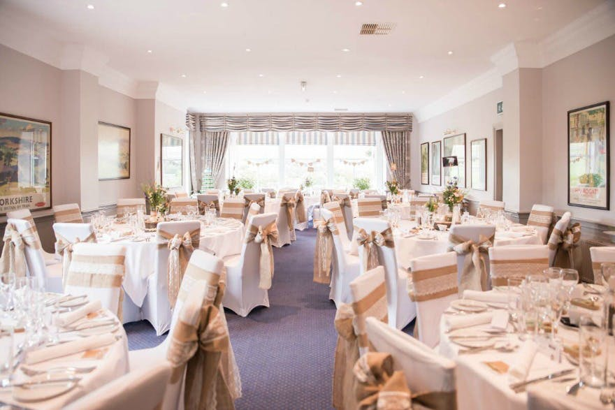 Helen and Jamie's wedding blessing at the Devonshire Fell | Confetti.co.uk