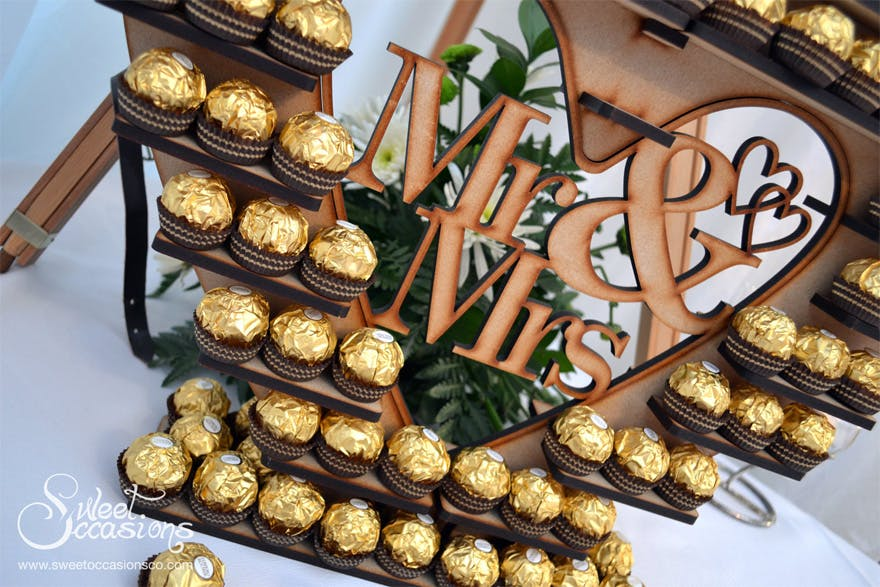 Ferrero Rocher Display by Sweet Occasions | Confetti.co.uk