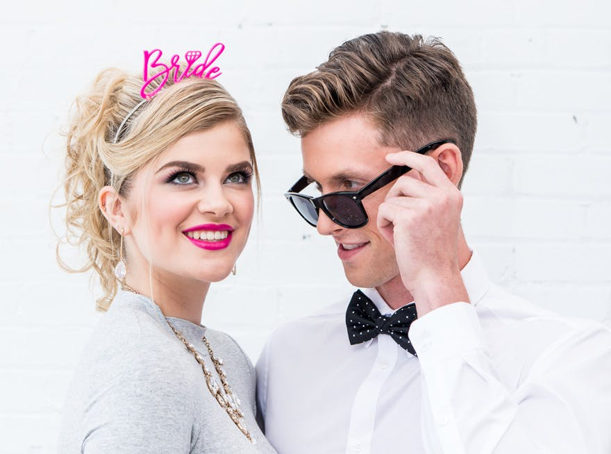 Fun Hen and Stag Bride and Groom Party Accessories | Confetti.co.uk