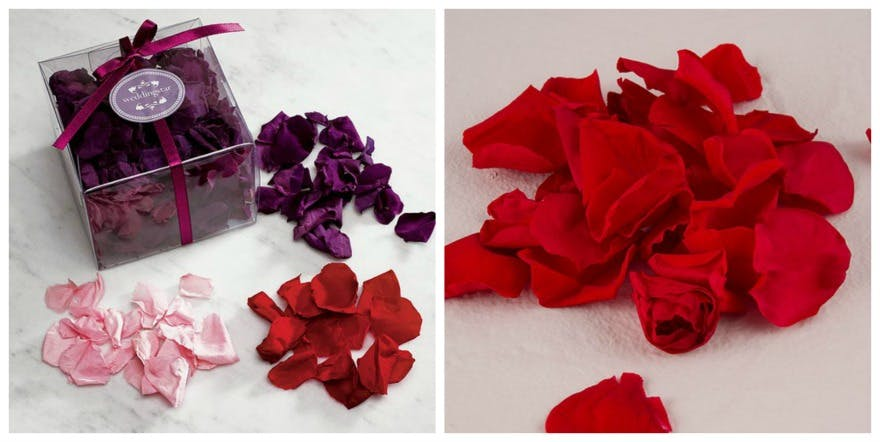 Natural rose petals | Confetti.co.uk