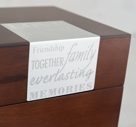 Wooden Memory Note Box | Confetti.co.uk
