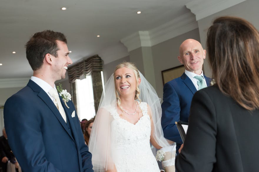 Wedding Blessing at the Devonshire Fell| Confetti.co.uk