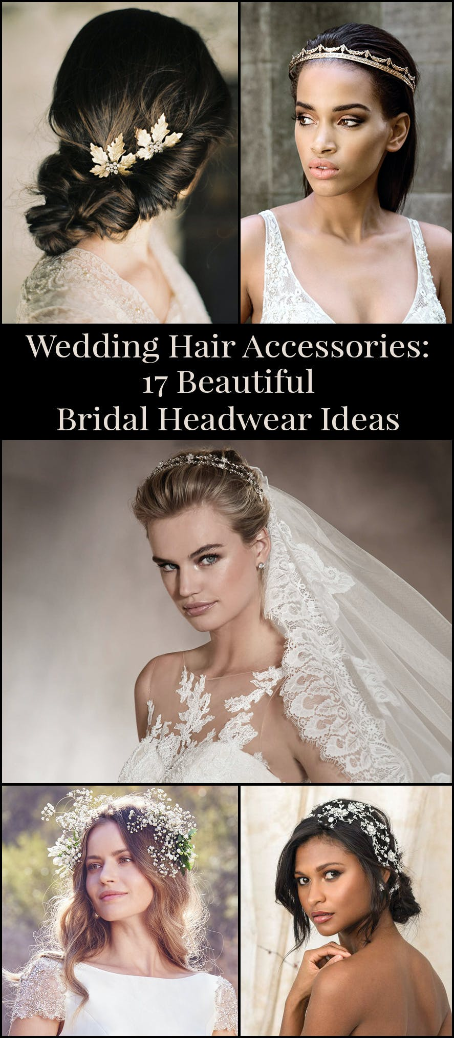Wedding Hair Accessories - 17 Beautiful Bridal Headwear Ideas and Inspiration | Confetii.co.uk