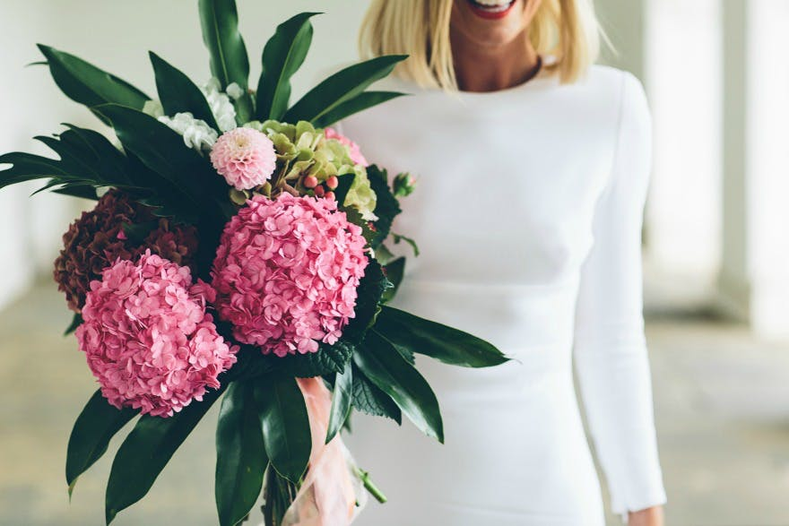 Bouquet from Hiding in the City by Jess Withey Photography | Confetti.co.uk