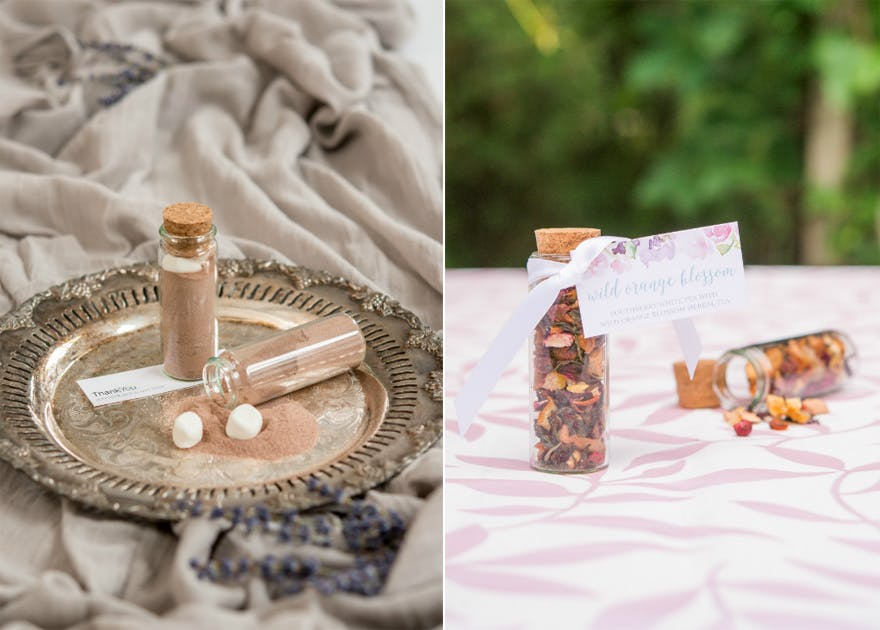 Hot Chocolate and Marshmallows Favour - Youthberry White Tea with Wild Orange Blossom Herbal Tea | Confetti.co.uk