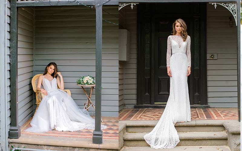 Australian wedding dress designer Karen Willis Holmes