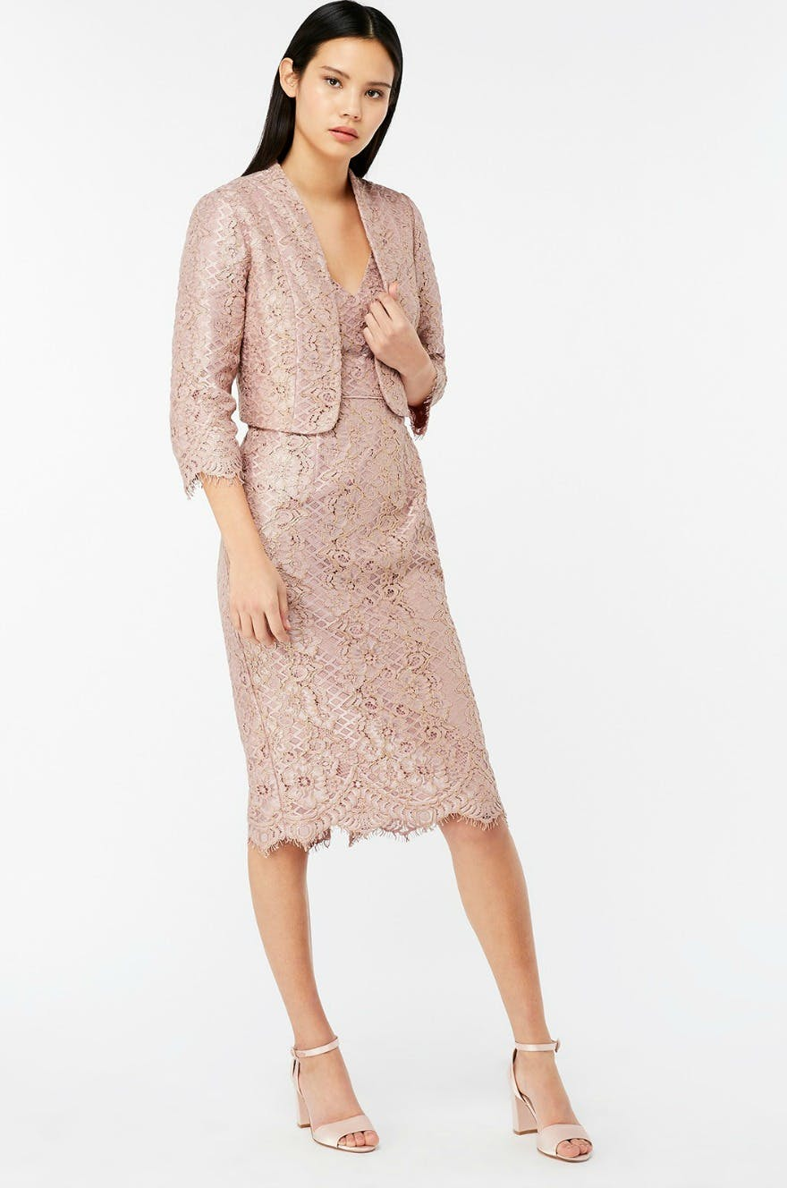 Mother of the bride Outifts by Monsoon Jeanie Jacket | Confetti.co.uk