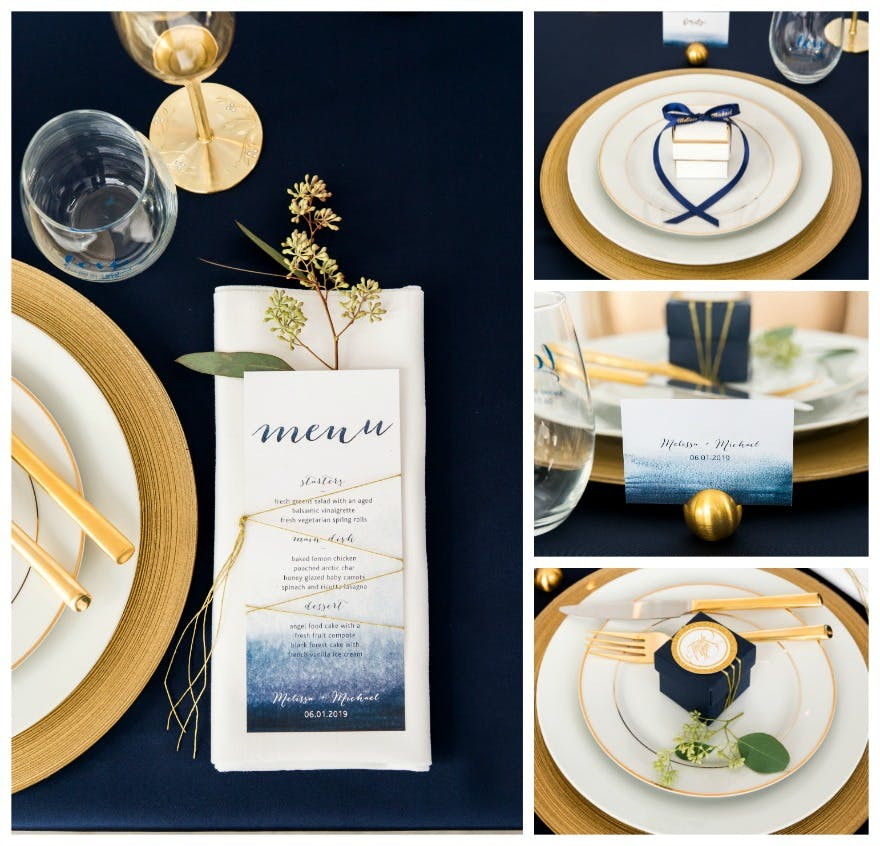 Blue Wedding Table Decorations: Wedding Table Decorations, Styling And Inspiration