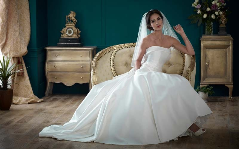 Nicola Anne wedding dress designer