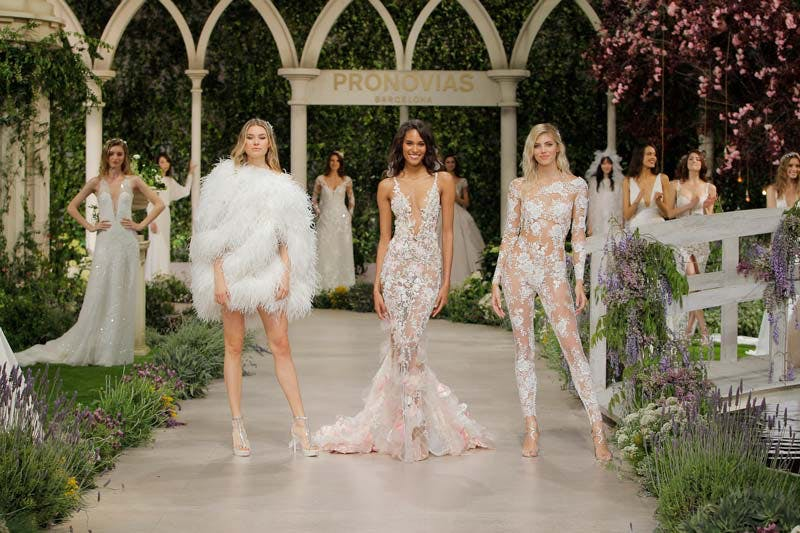 cd22c30183b9 VIDEO: Pronovias 2018 Catwalk Show - In Bloom Collection