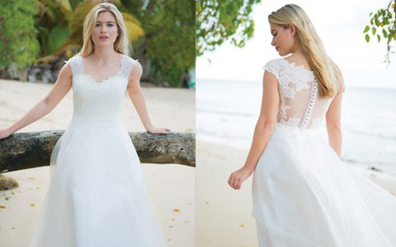 Ivory and Co wedding dress
