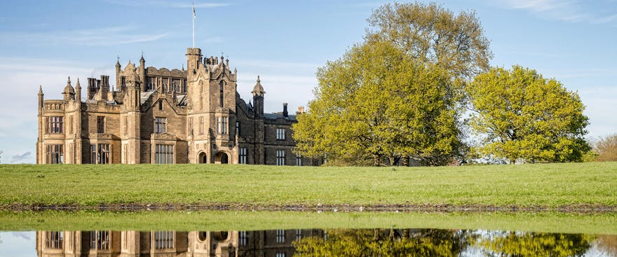 Allerton Castle Grade I Listed 19th Century Gothic Victorian Gothic House - Castle Weddings in North Yorkshire - Countryside Wedding Venues in the UK | Confetti.co.uk