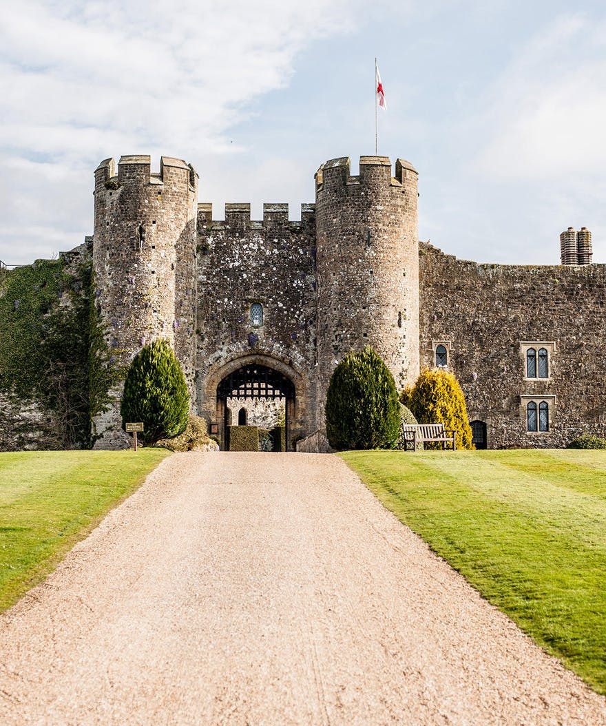 Amberley Castle Luxury Castle Hotel and Restaurant in West Sussex Near the South Downs - Summer Wedding Venues in the UK | Confetti.co.uk