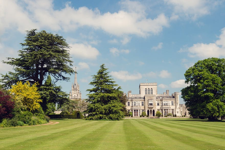 Ashridge House Historic Grade I Listed Country House in Hertfordshire with Ties to Henry VIII - Ashridge House in Summer - Grand Wedding Venue Ideas | Confetti.co.uk