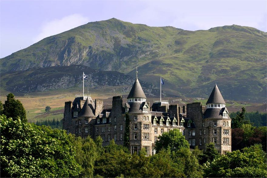 Atholl Palace Scottish Castle and Highland Spa Hotel in Pitlochry in the Scottish Highlands - Scottish Highland Castle in the Hills of Scotland | Confetti.co.uk