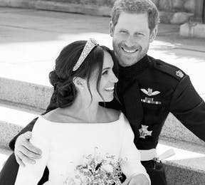 Best Reactions to the Royal Wedding - Prince Harry and Meghan Markle Official Wedding Photos - Black and White Royal Wedding Official Photos Thumbnail | Confetti.co.uk