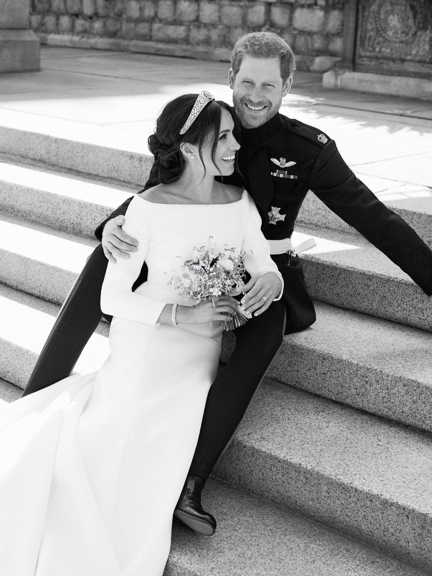 Best Reactions to the Royal Wedding - Prince Harry and Meghan Markle Official Wedding Photos - Black and White Royal Wedding Official Photos | Confetti.co.uk