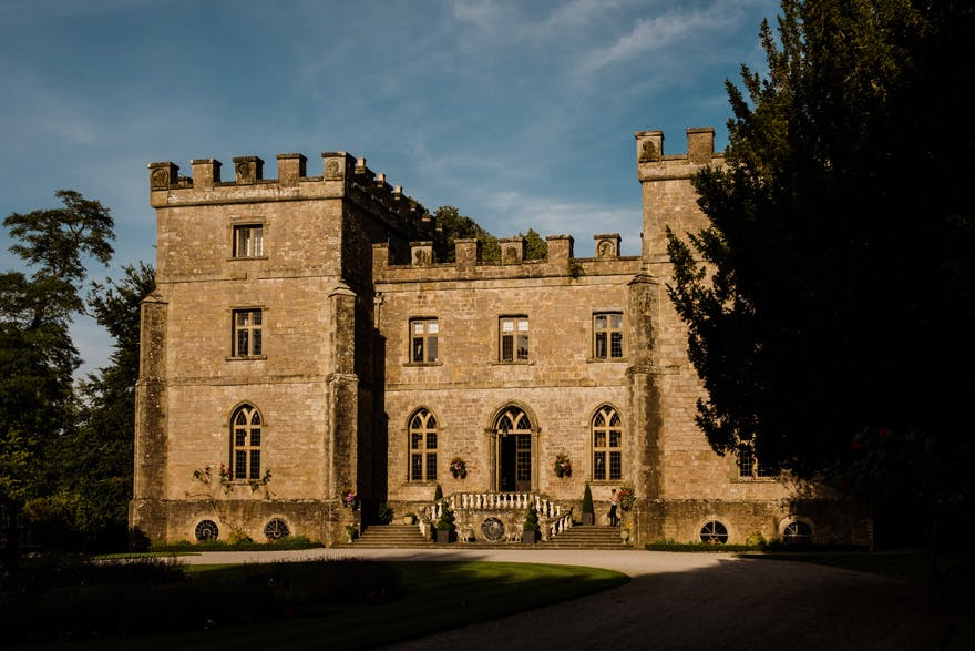 Clearwell Castle Grade II Listed Gothic Revival Mansion in Clearwell, Forest of Dean, Gloucestershire - Clearwell Castle Wedding Photography by Martin Phillips Studio | Confetti.co.uk