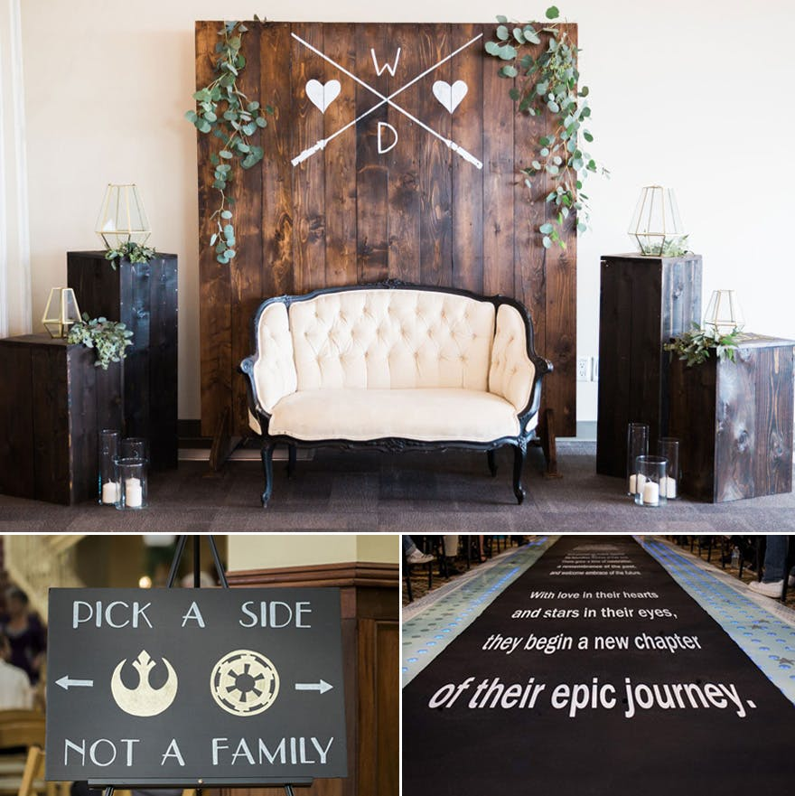 Elegant Star Wars Decor Ideas | Confetti.co.uk