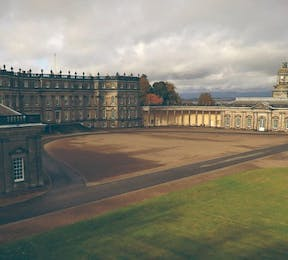 Gorgeous Grand Stately Home Wedding Venues in the UK Hopetoun House West Lothian Scotland Photo by White Balloon Films | Confetti.co.uk